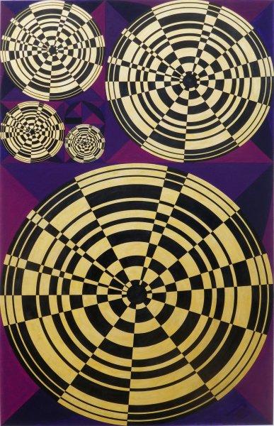 The Golden Circle (acrylic/ink/gouache)