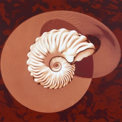 Aconite (lithograph/screen-print)
